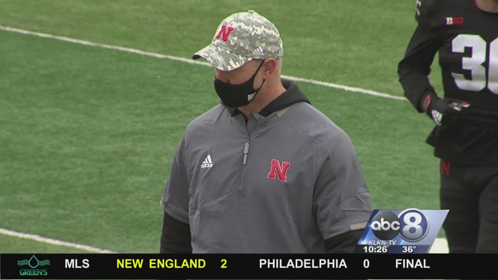 Intensity Ramps Up At Husker Football Practice