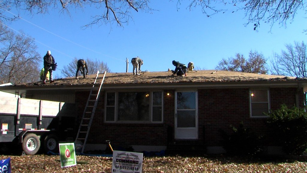 Renovating elderly mans home in south Lincoln.