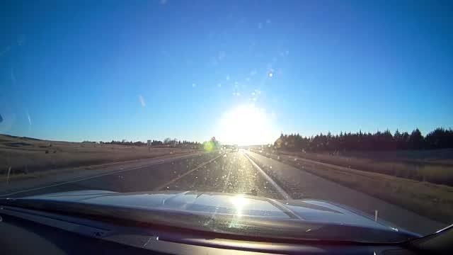 Crash Near North Platte Caught On Nsp's Dash Cam