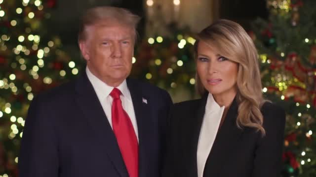 President Trump Christmas Message