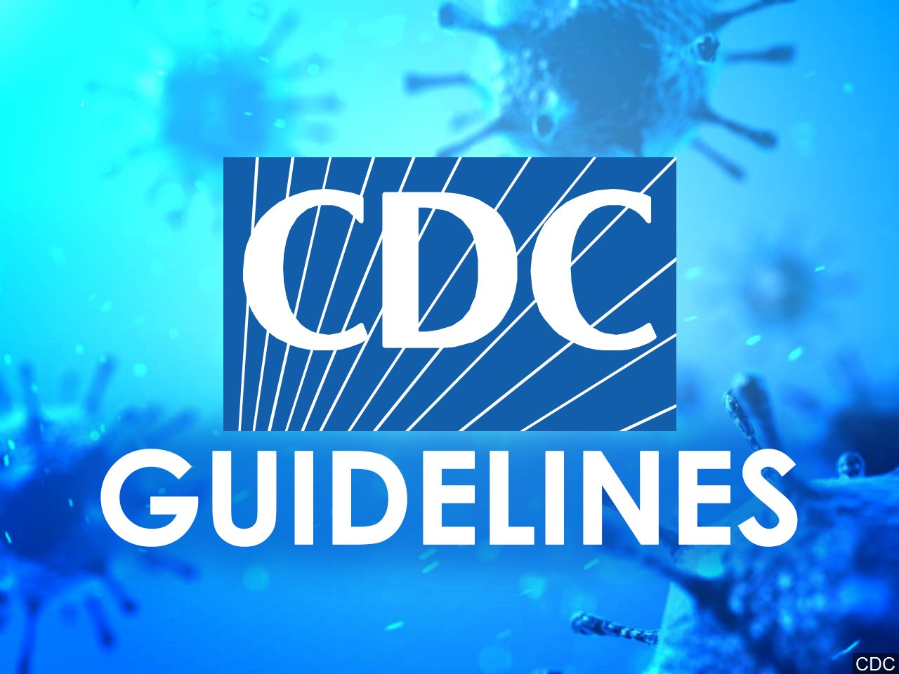CDC Guidelines WILL be enforced.