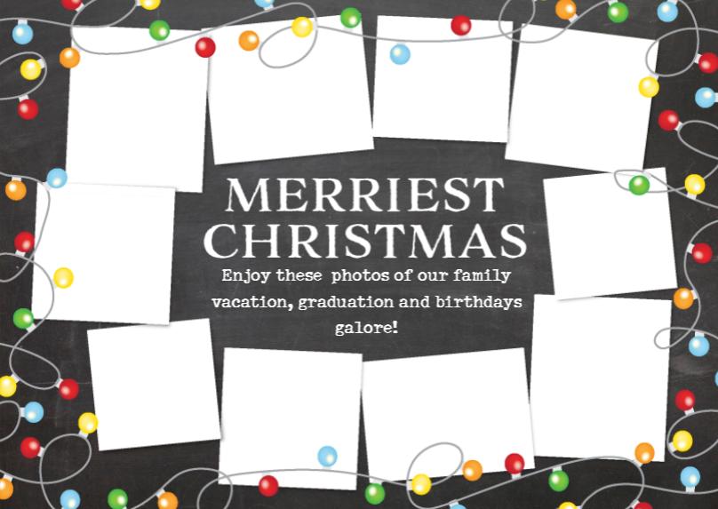 Bad Christmas Card