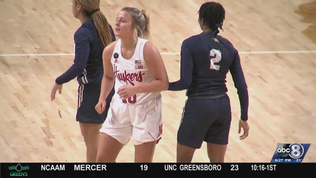 Whitney Brown Playing Her Role For Husker Women