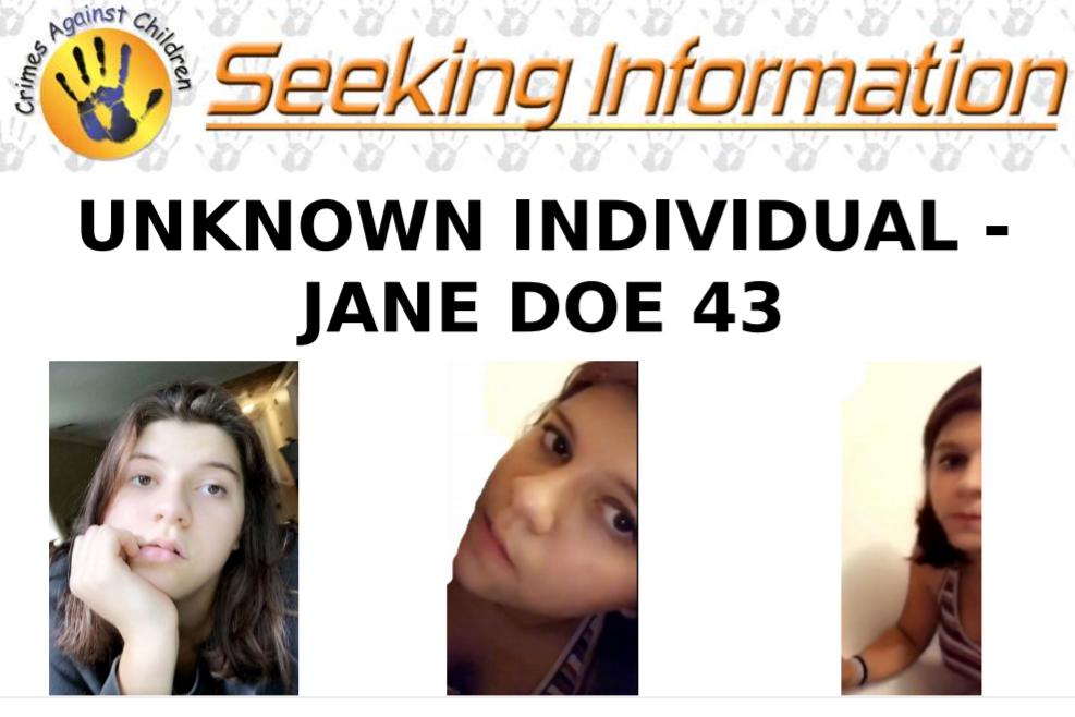 Jane Doe 43