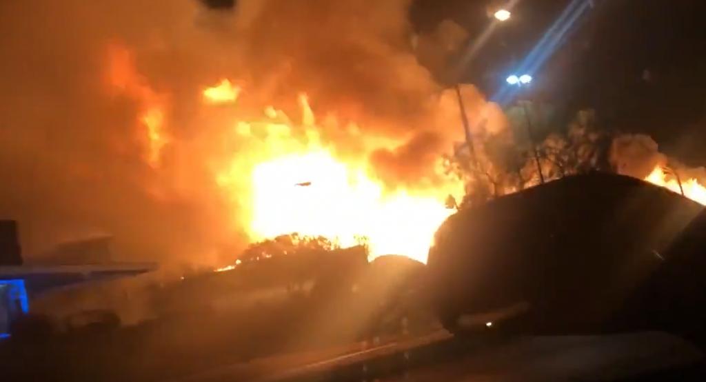 Las Vegas Fire Pic