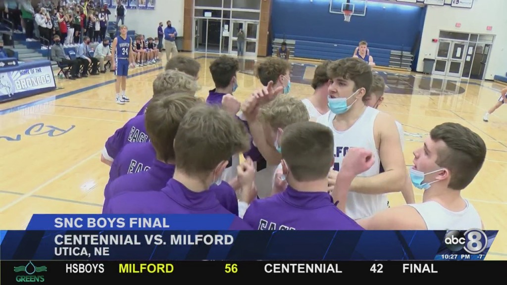 Highlights: Milford, Centennial Win Snc Titles