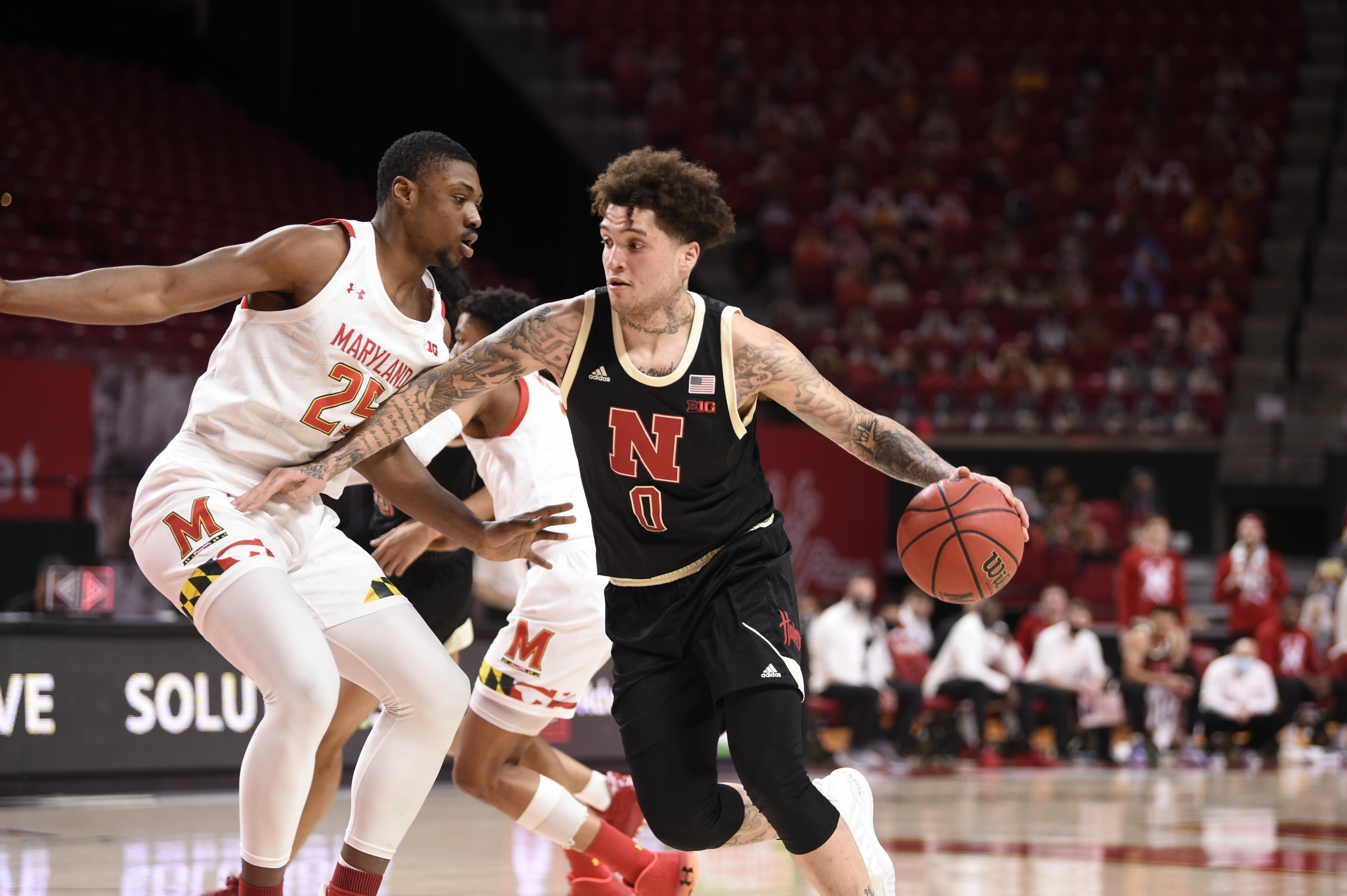 Husker men fall in first of two games at Maryland - KLKN-TV