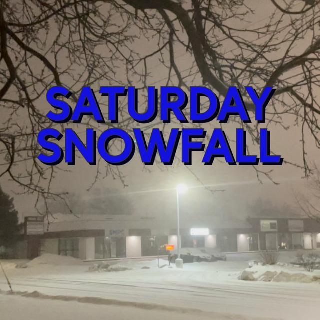 Saturday Snowfall