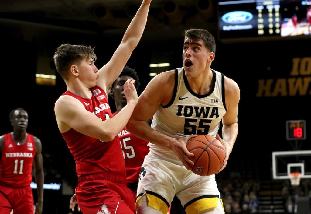 Iowa Mens Basketball Vs Nebraska