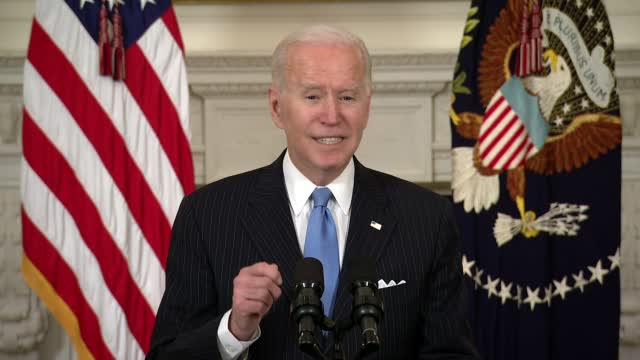 Biden Vaccines For All Adults By May's End