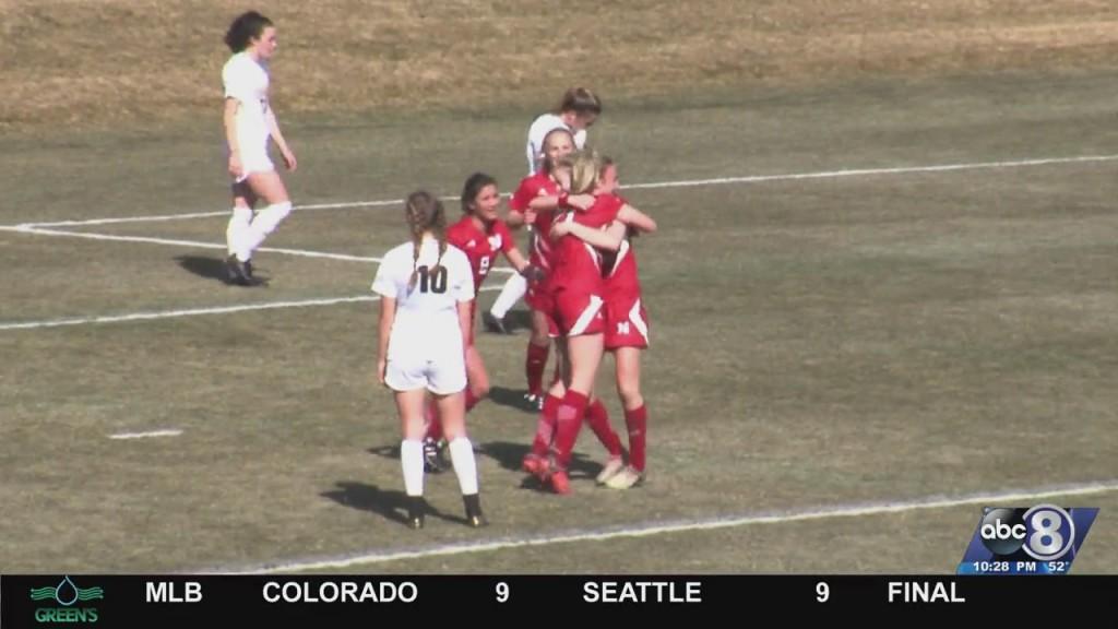 Nebraska Soccer Tops Purdue, 2 1