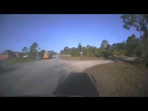 Bus T Boned By Car