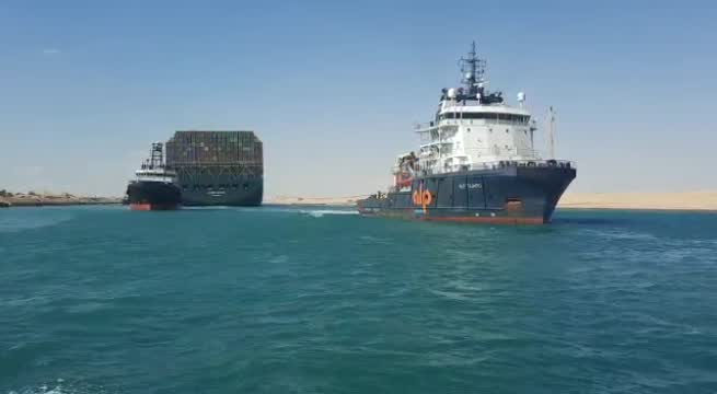 Ever Given Pulled Free From The Suez Canal