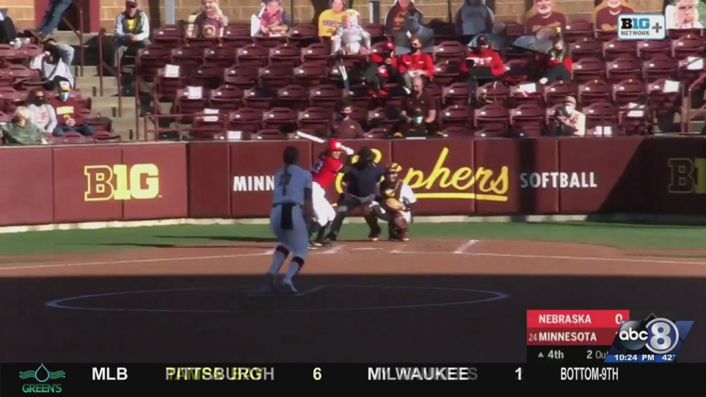 Nebraska Falls To Minnesota In Final Inning