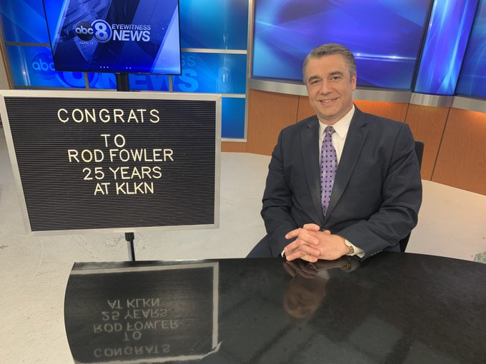 Rod Fowler 25 Years
