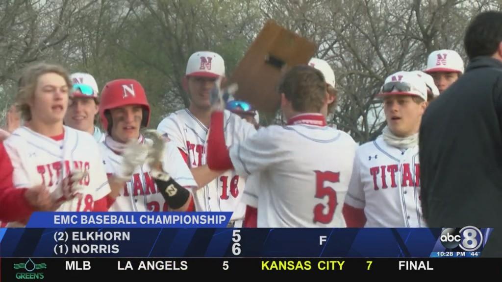 Norris Baseball Wins Emc Championship