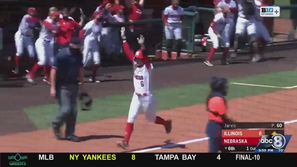 Husker Softball Beats Illinois