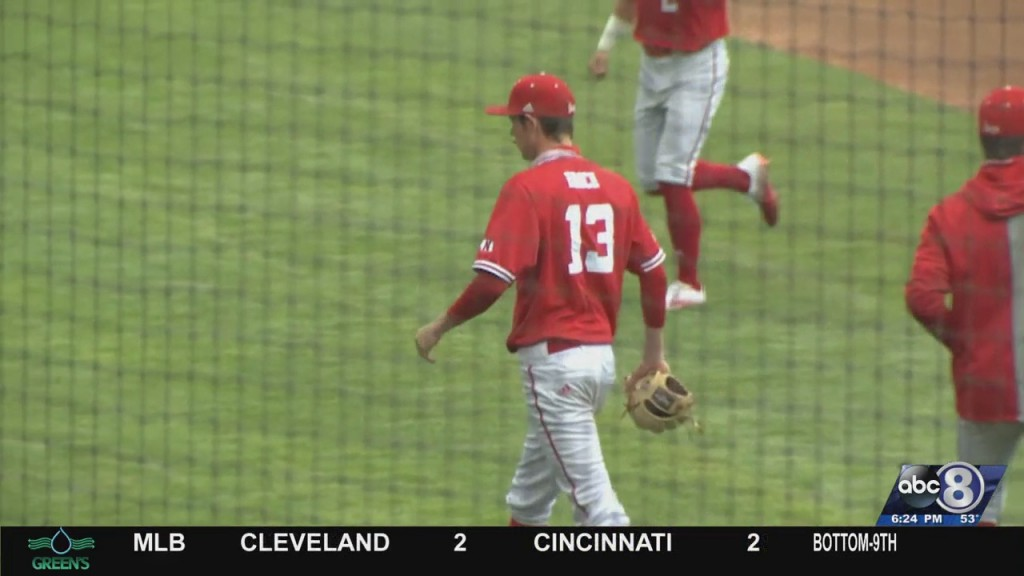 Husker Baseball Clinches Series