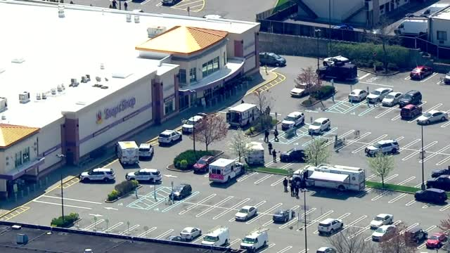 Aerial View Of Long Island Shooting 4/20/21