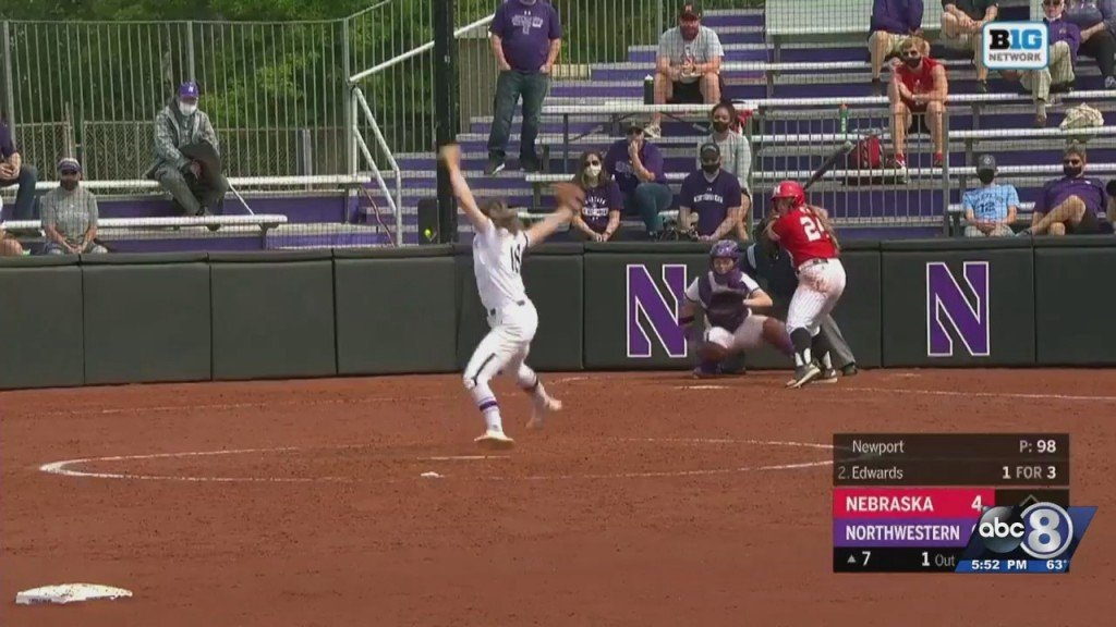 Husker Softball Falls Short In Final Game