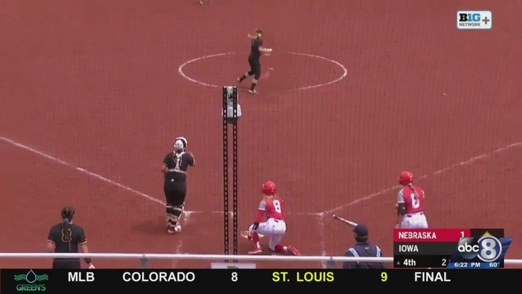 Husker Softball Wins In Iowa