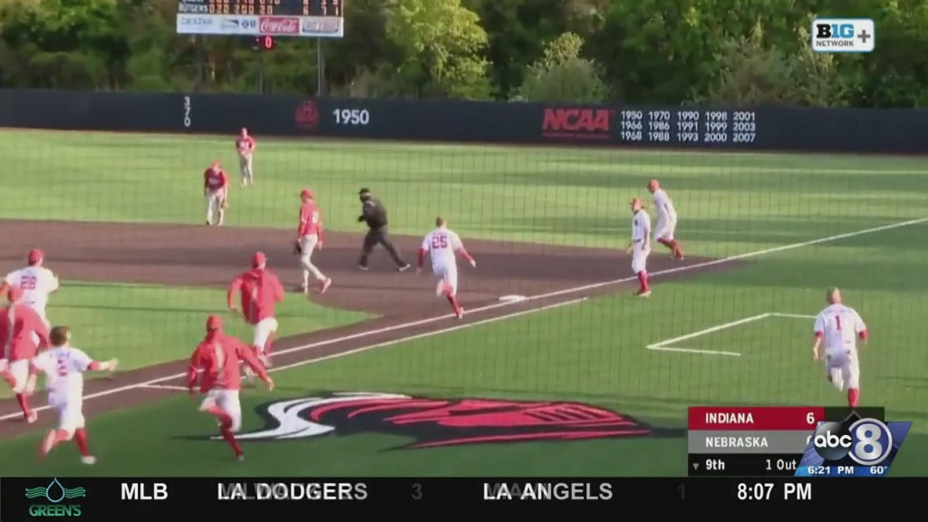 Husker Basebal Walk Off Win