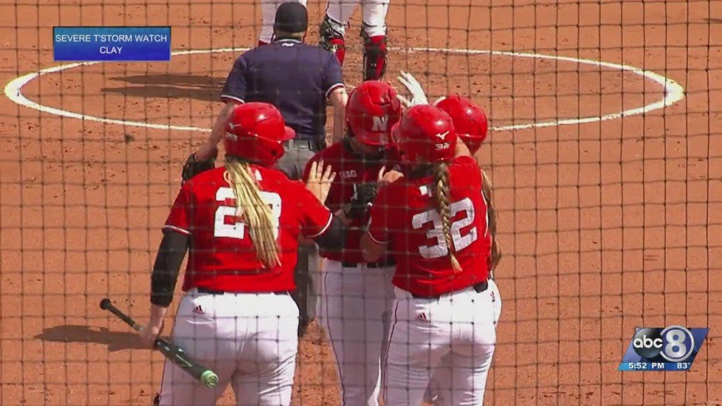 Husker Softball Completes First Sweep Of Season