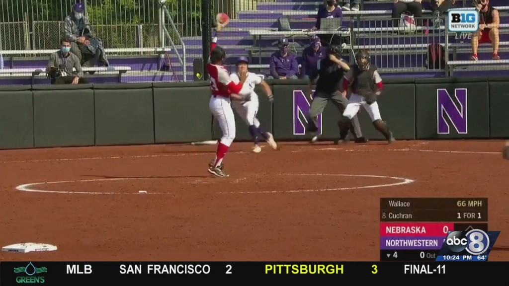 Husker Softball Falls To Northwestern