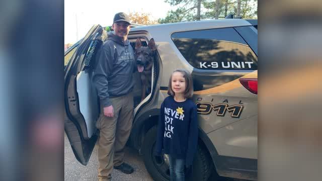 5 Year Old Donates Savings To K9 Unit