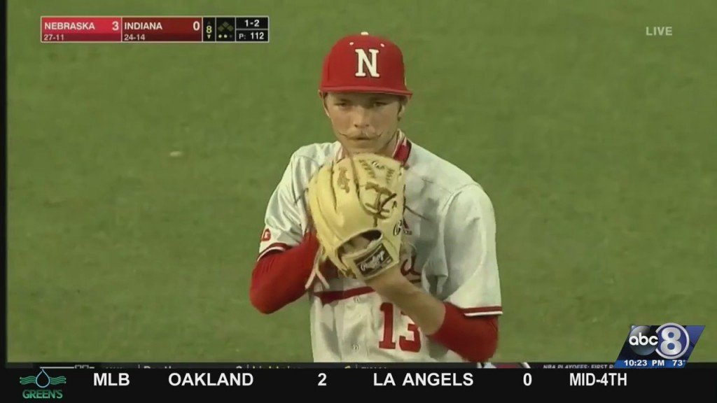Huskers Beat Indiana In Game Two