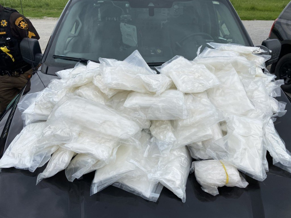 100 lbs of meth seized