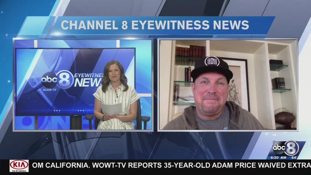 Garth Brooks Interview 520