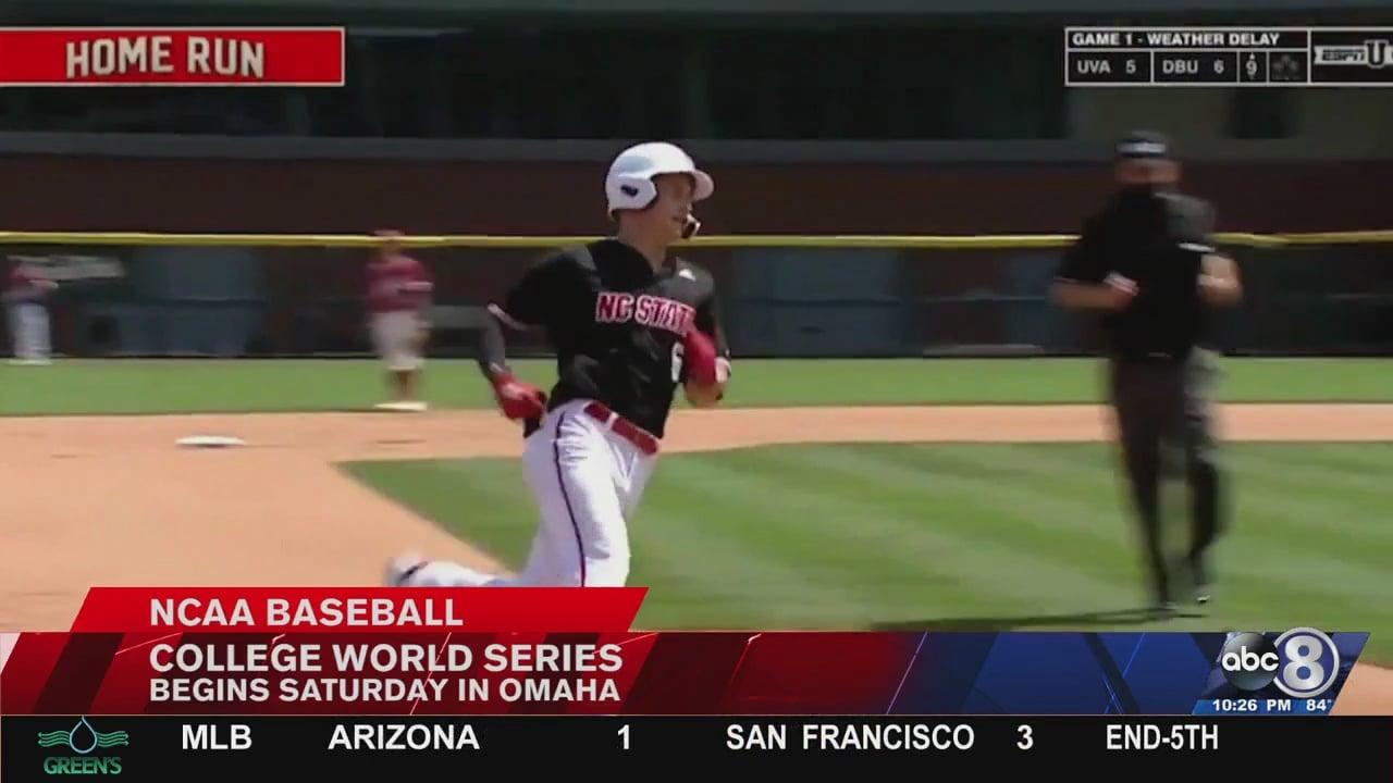 College World Series matchups set for first weekend - KLKN-TV