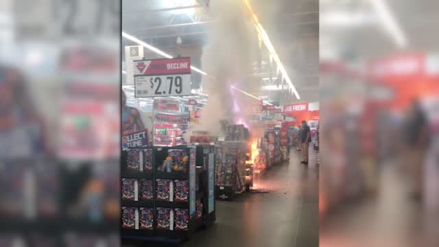 Fireworks Ignited In Minnesota Grocery Store