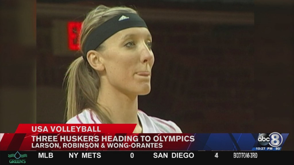 Three Former Huskers Named To Olympic Volleyball Team