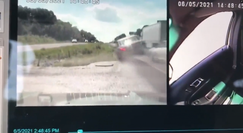 Missouri Trooper Nearly Hit By Drunk Driver
