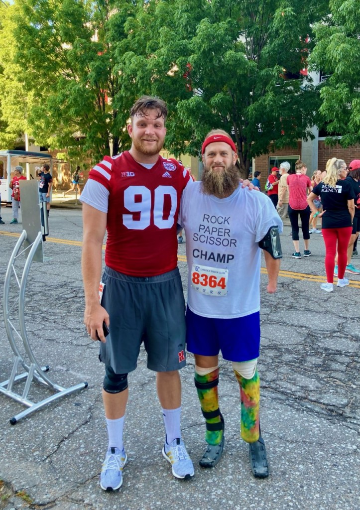 HUSKER WALK-ON AND LINCOLN RUNNER SHARE SPECIAL BOND