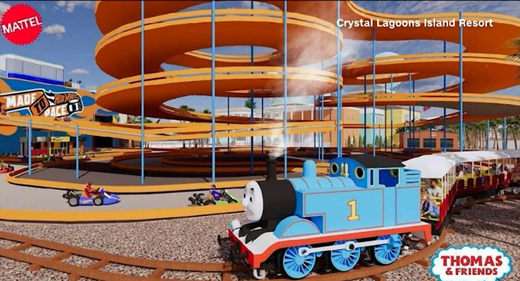 Mattel-branded theme park