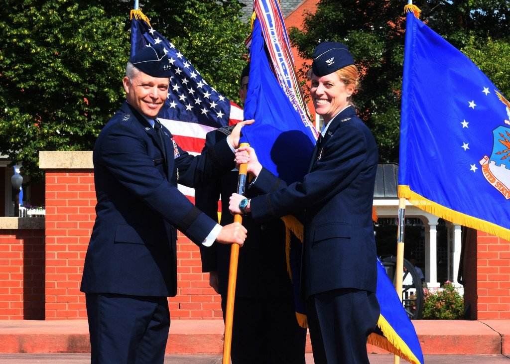 55th Wing Change Of Command