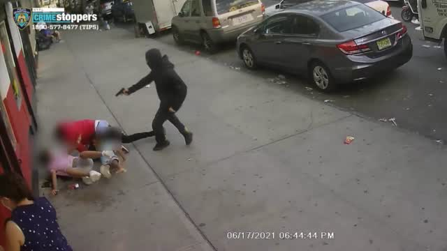 Man Opens Fire In The Bronx, Children Take Cover