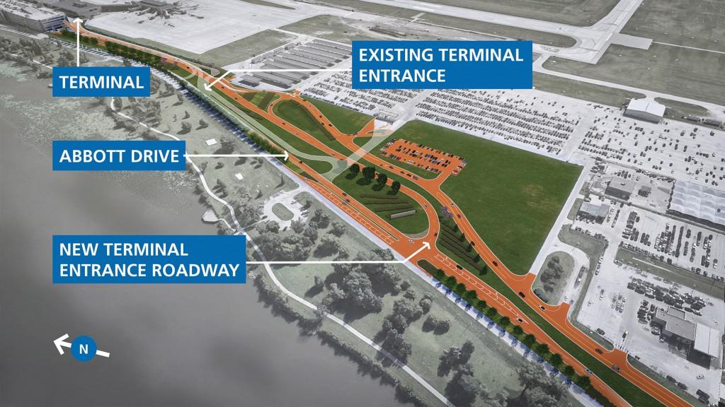 Terminal Entrance Roadway Expansion
