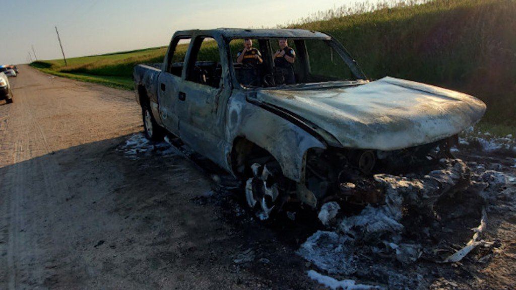 Beatrice family looking for answers after vehicles torched