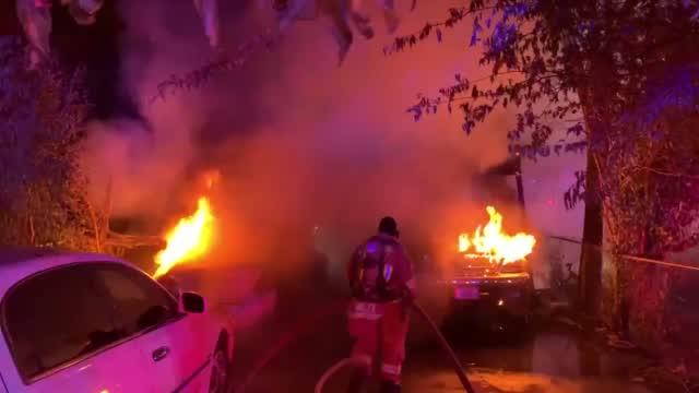 Fireworks Start Car Fire In Austin, Texas