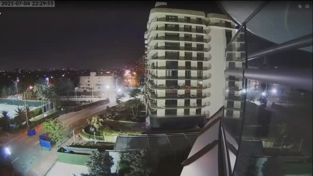Remaining Section Of Surfside Condo Imploded. Courtesy: Miami Dade Fire Rescue