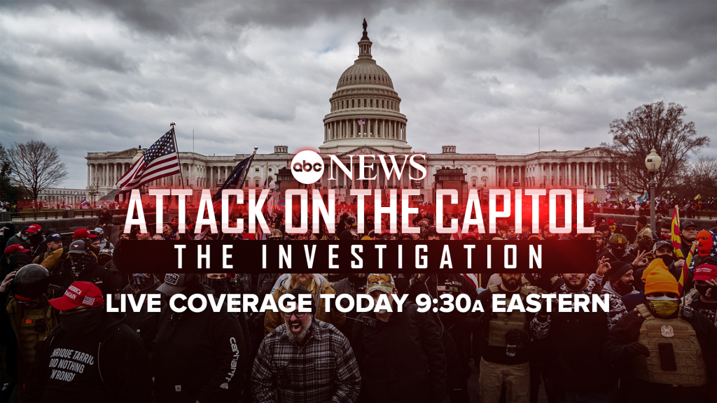Live Coverage of Jan. 6 Attack Committee Meeting