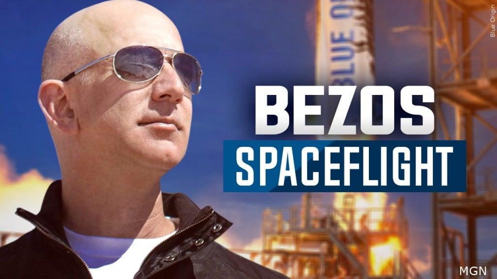 Jeff Bezos Spaceflight