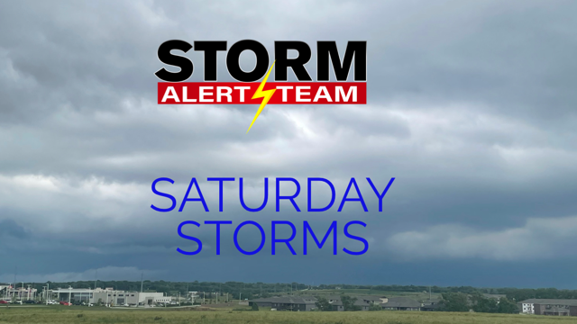 Saturday Storms