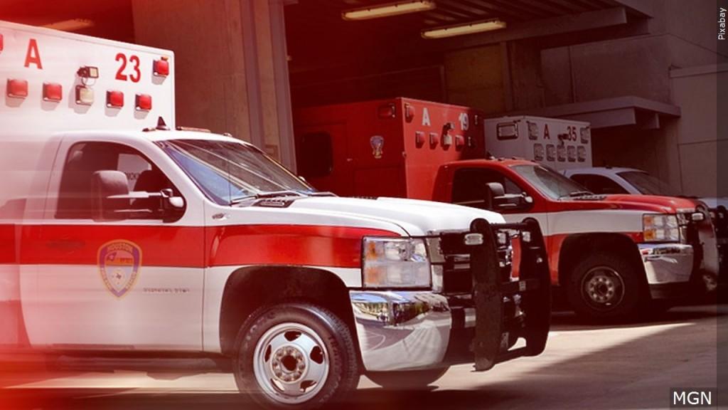 Stock photo: ambulance