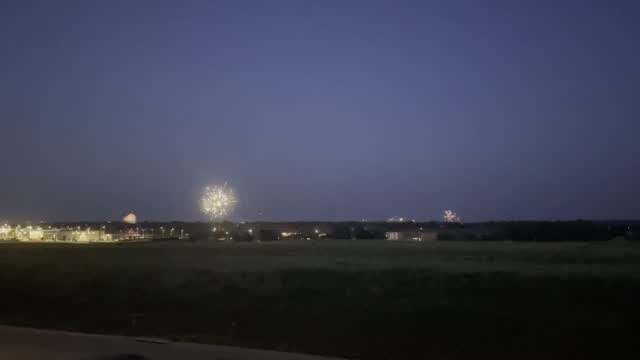 Fireworks Across Lincoln