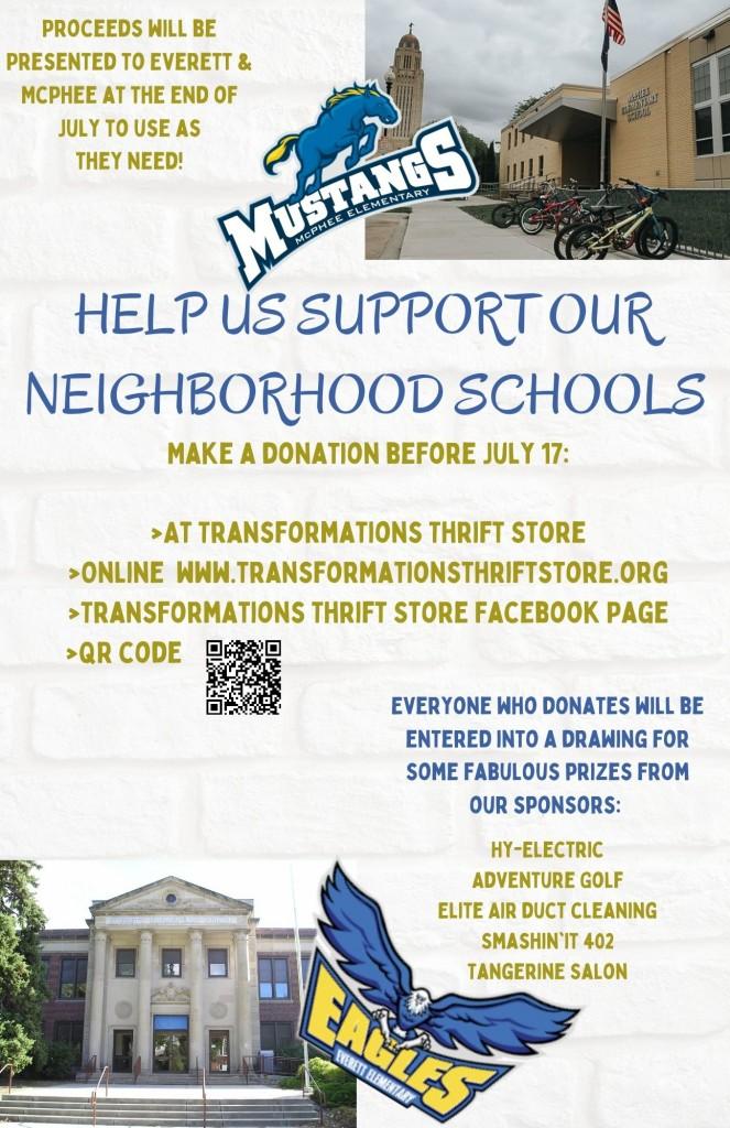 School Fundraiser 1 1